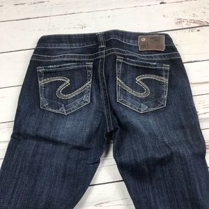 Women's Silver Size 27 Tuesday Low Rise Jeans